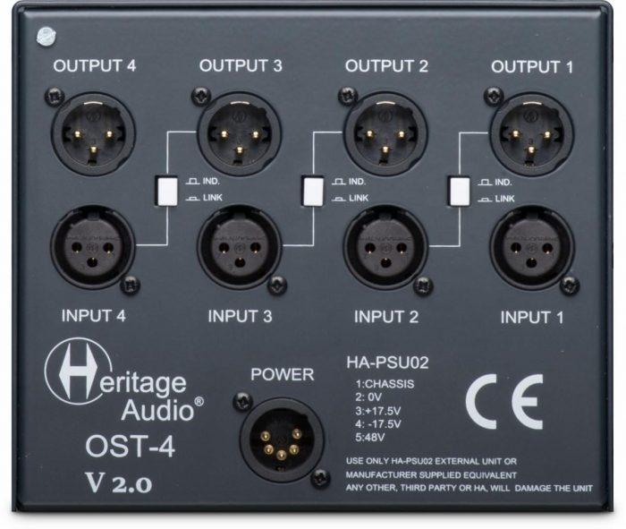 Heritage Audio OST 4 back
