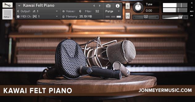 Jon Meyer Felt Piano
