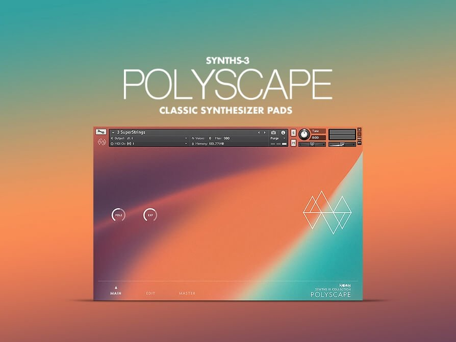 Karanyi Sounds releases Polyscape neo-futuristic synth pad instrument