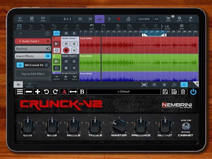 Nembrini Audio Crunk v2 iOS