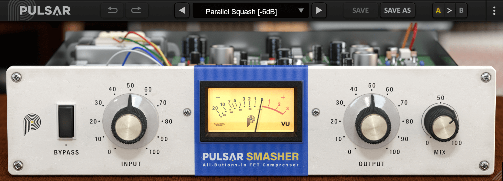 Pulsar Audio's Smasher extreme 1176 compressor is FREE for a limited time