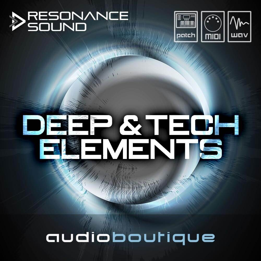 Resonance Sound releases Deep & Tech Elements and Techno Maschinen