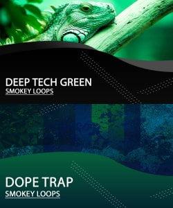Smokey Loops Deep Tech Green & Dope Trap