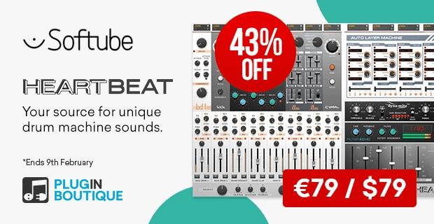 Softube Heartbeat Sale