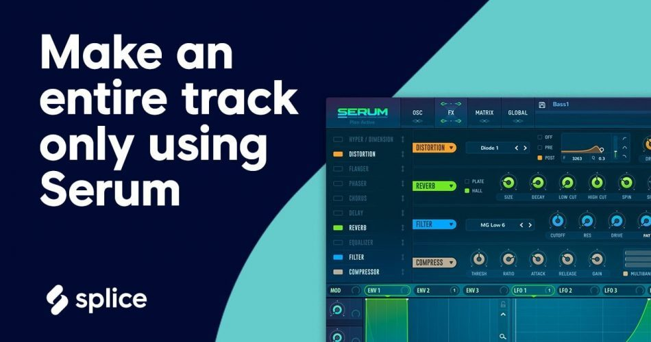 Splice make an entire track only using Serum