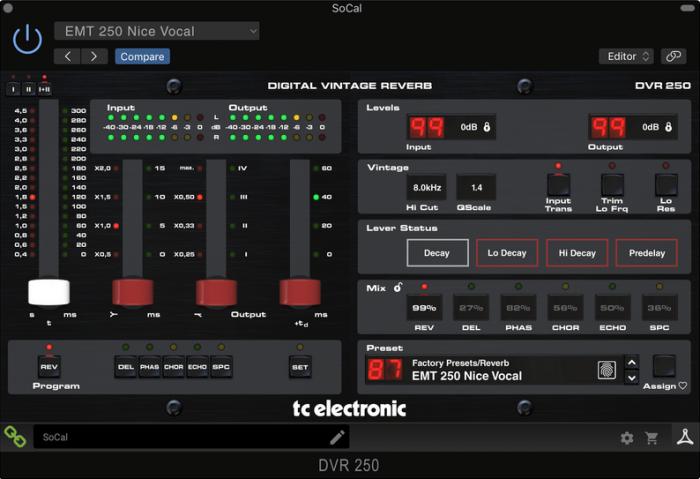 TC Electronic DVR250 DT
