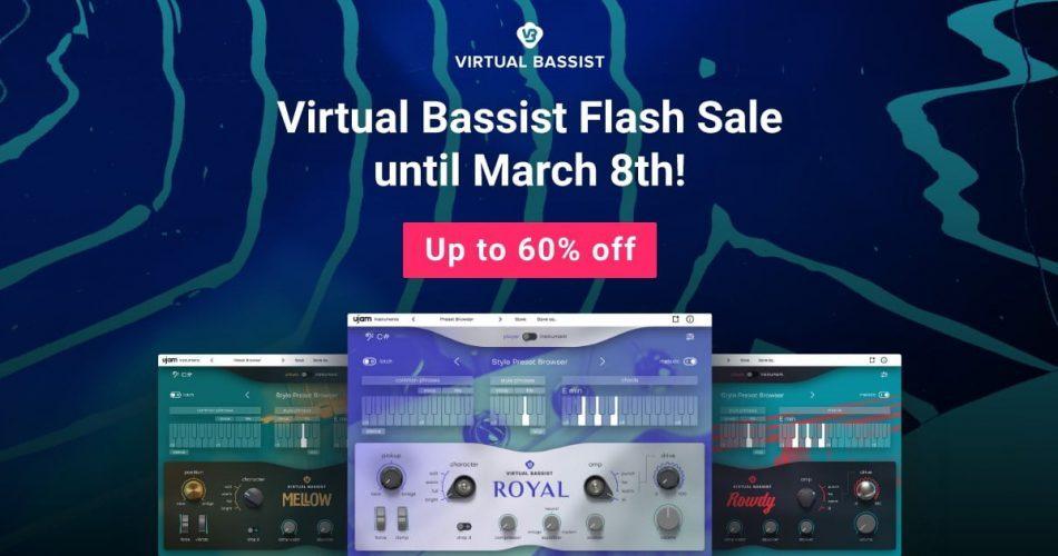 UJAM Virtual Bassist Flash Sale