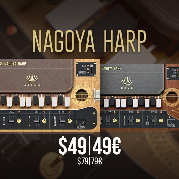 UVI Nagoya Harp Sale 49