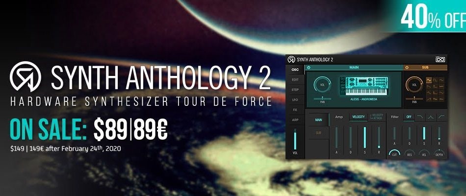 UVI Synth Anthology 2 sale 40 OFF