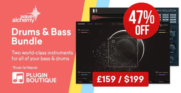 Wave Alchemy Drums Bass Bundle