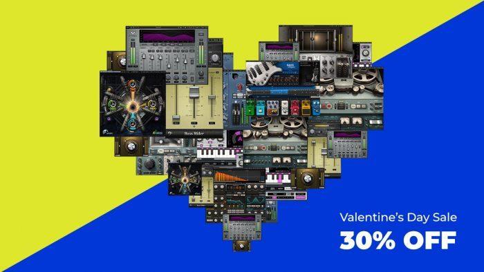 Waves Audio Valentines Day Sale 2020