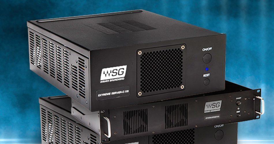 Waves X9 SoundGrid DSP Servers