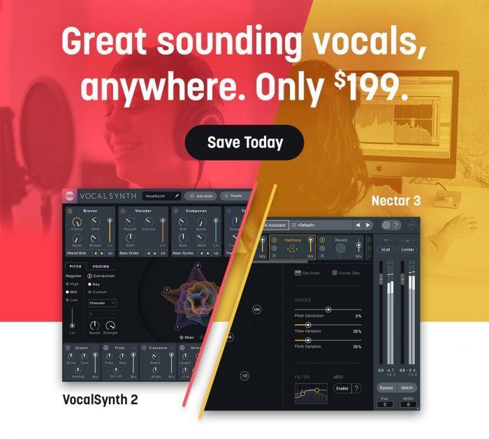 iZotope Vocal Bundle Sale