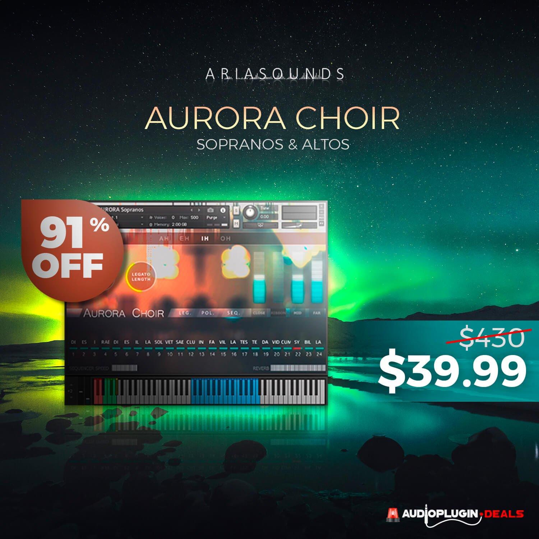 APD Black Lightning Deal: Over 90% OFF Aurora Choir by Aria Sounds