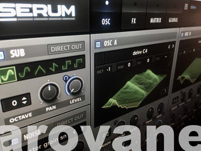 Arovane Spectral for Serum