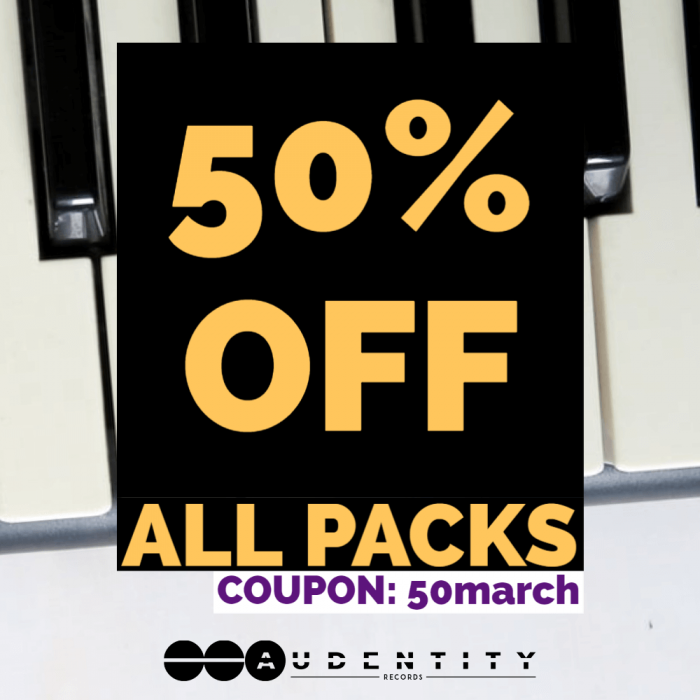 Audentity Records 50 OFF March