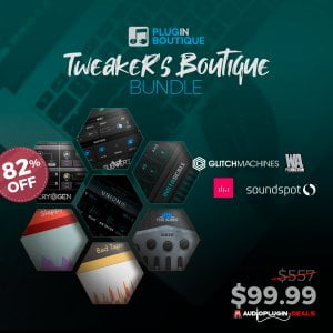 Audio Plugin Deals Tweakers Boutique Bundle