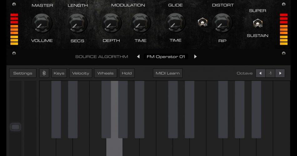 AudioKit Bass 808 Synth