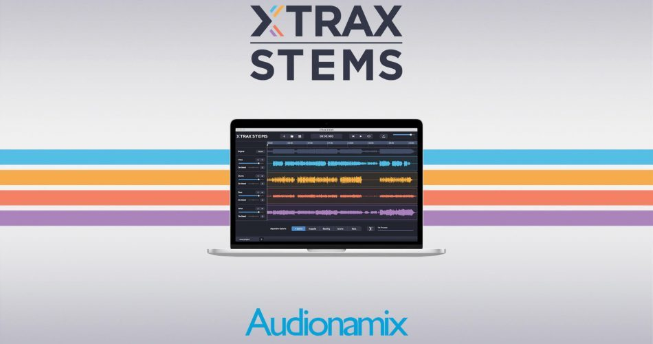 Audionamix XTRAX STEMS graphic