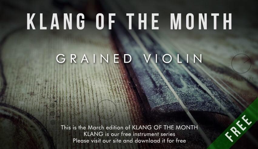 Cinematique Instruments Grained Violin