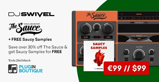 DJ Swivel Sauce and FREE sample pack