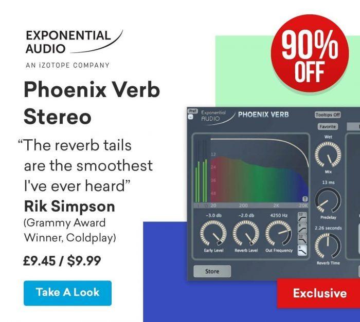 Exponential Audio PhoenixVerb 90 OFF