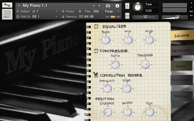 FluffyAudio My Piano