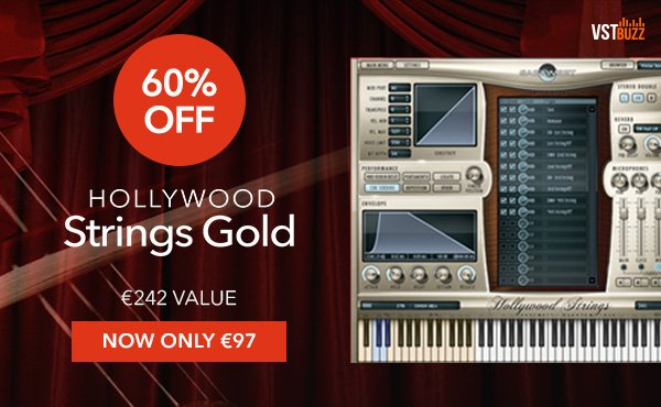 Hollywood Strings Gold