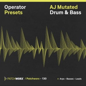 Loopmasters AJ Mutated Drum & Bass for Ableton Operator