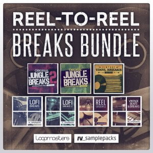 Loopmasters RV Samplepacks Reel to Reel Breaks Bundle