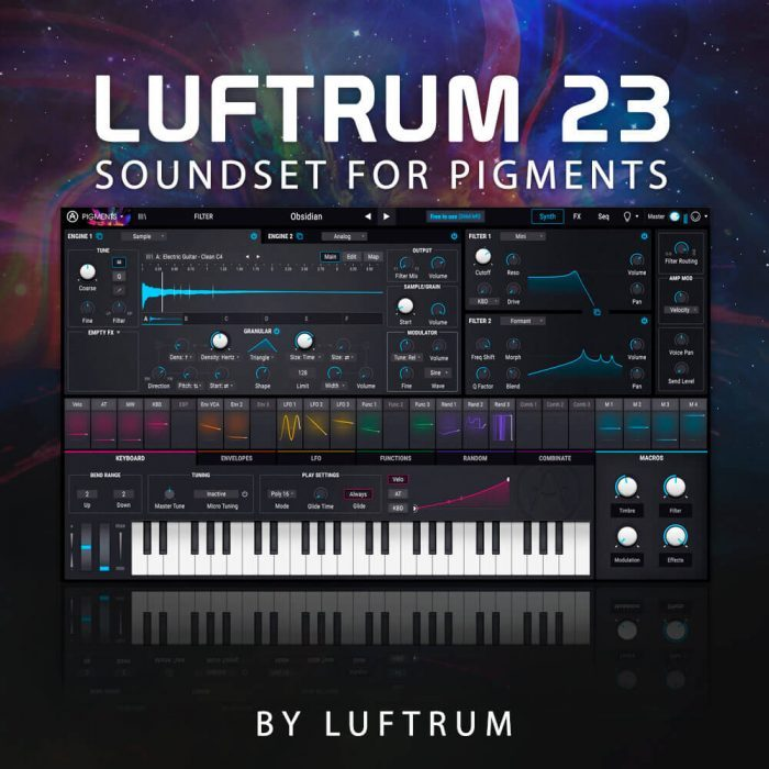 Luftrum 23 for Arturia Pigments