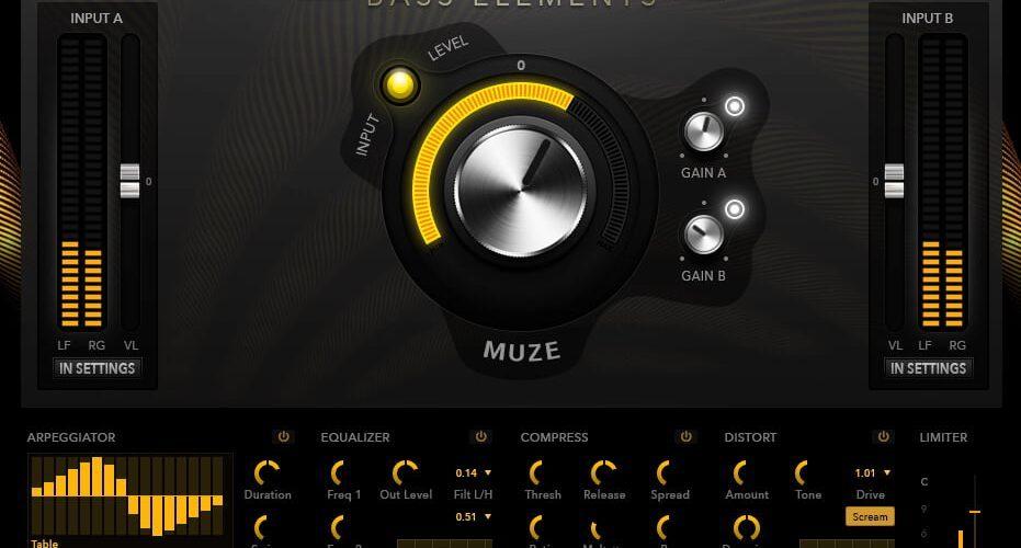 Muze Bass Elements