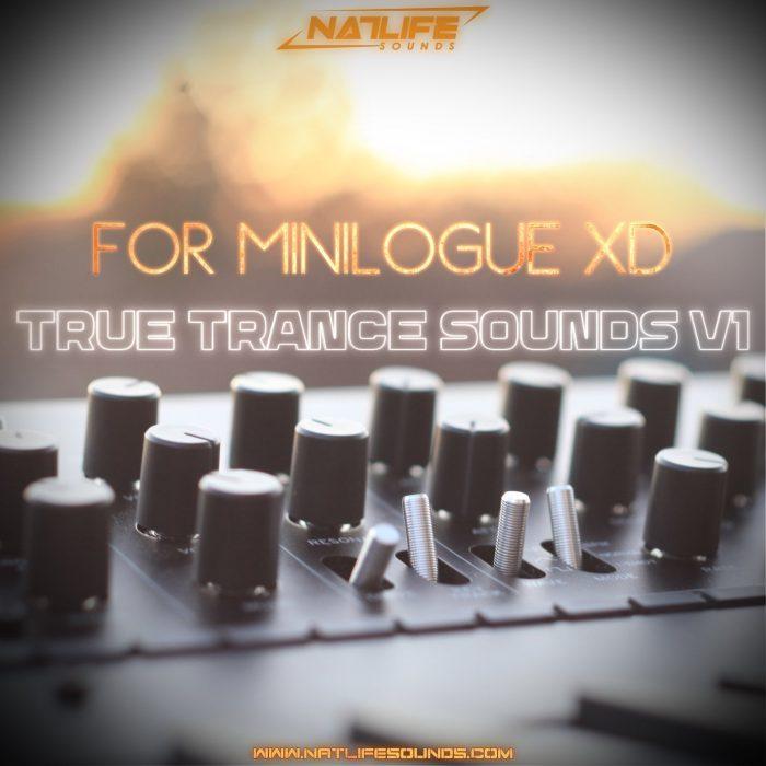 NatLife True Trance Sounds V1 for Minilogue XD