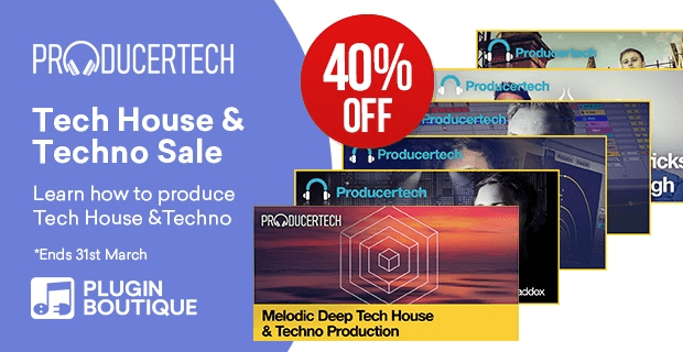 Producertech Tech House Techno Sale