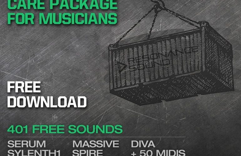 Resonance Sound Care Package for Musicians