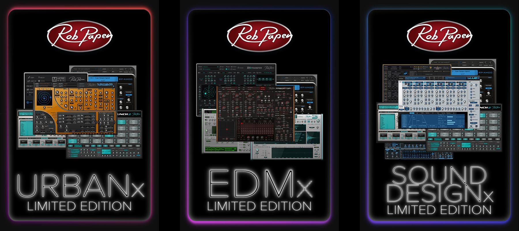 Rob Papen launches Limited Edition Urban, EDM & Sound Design Bundles