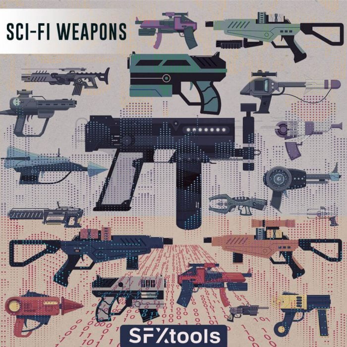SFX Tools SciFi Weapons