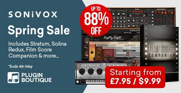 Sonivox Spring Sale