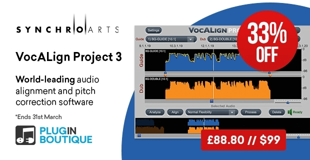 SynchroArts VocALign30