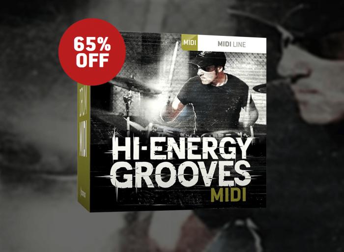 Toontrack Hi Energy Grooves MIDI Sale