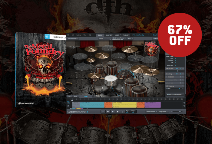 Toontrack Metal Foundry Sale
