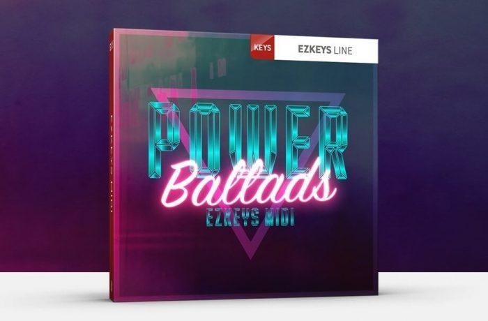 Toontrack Power Ballads EZkeys MIDI