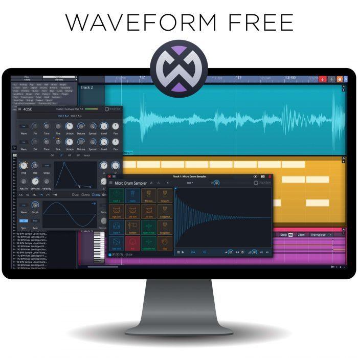 Tracktion Waveform Free
