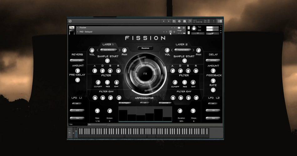 Triple Spiral Audio Fission A for Kontakt