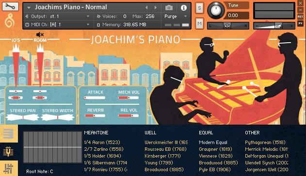 Versilian Studios Joachims Piano
