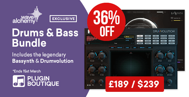 WaveAlchemy Drums Bass bundle