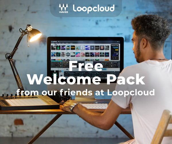 Waves Loopcloud Free Welcome Pack