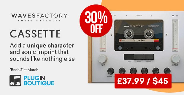 Wavesfactory cassette30 OFF