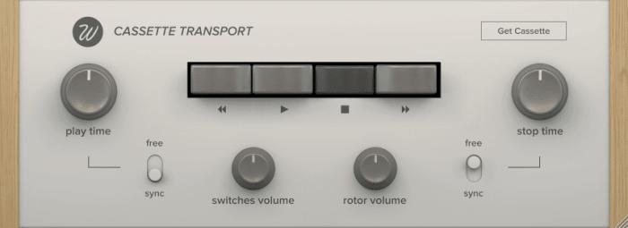 Wavesfactroy Cassette Transport