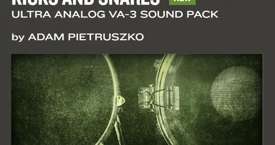 AAS Kicks and Snares for Ultra Analog VA3